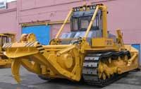 Бульдозер ДЭТ-320, с лебедкой тяговым усилием 50 тонн