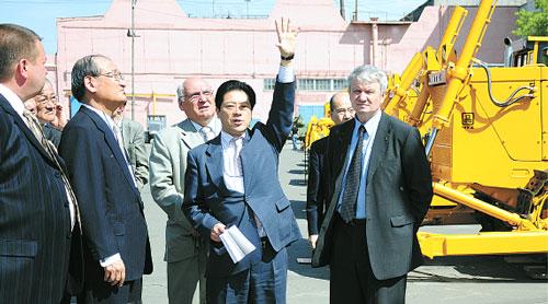 Мицубиси взвешивает шансы на сотрудничество с ЧТЗ