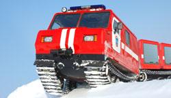 двухзвенный транспортер ДТ-3П производства ЧТЗ