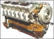 Дизельный двигатель В-46-6 производства ЧТЗ