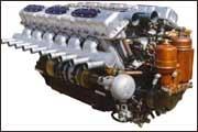 Дизельный двигатель В-31 М4 производства ЧТЗ