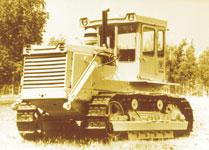бульдозер Т-130 производства ЧТЗ